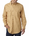 Men's Solid Flannel Shirt: (BP7005)