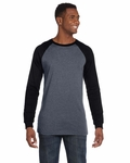 Canvas Men's T-Shirt: 100% Cotton Hawthorne Baseball (3000C)