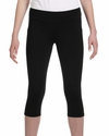 for Team 365 Ladies' Capri Legging: (W5009)