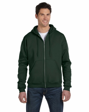 Champion Men's Sweatshirt: 50/50 Full-Zip Hooded (C22C)