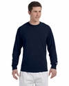 Champion Men's T-Shirt: 100% Cotton Long-Sleeve Tagless (CC8C)