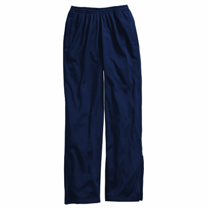 Charles River Men's Athletic Pants: 100% Polyester Pocketed with Drawstring (9079)