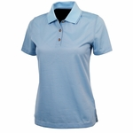 Womens MicroStripe Polo
