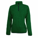 Womens Heathered Fleece Pullover