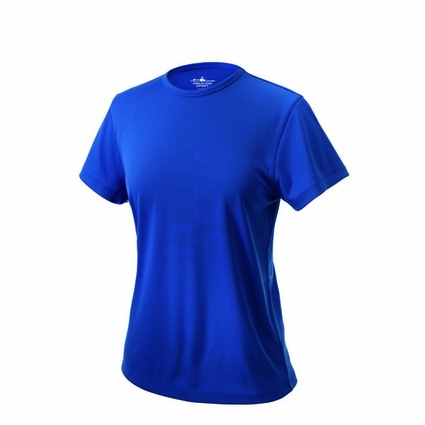 Charles River Women's T-Shirt: 100% Polyester Pique Solid with Wicking (2830)