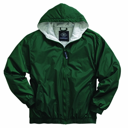 Charles River Youth Jacket: Sweatshirt Lined Pocketed Quarter-Zip (8921)