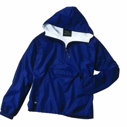 Charles River Youth Pullover Jacket: Nylon Raglan Half-Zip (8905)