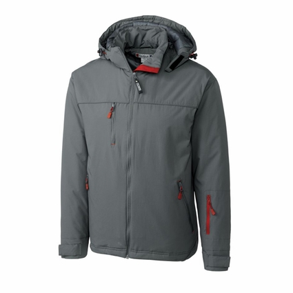 Clique Men's Jacket: 100% Nylon Shell, 100% Polyester Lining Full Zip Long Sleeve (MQO00023)