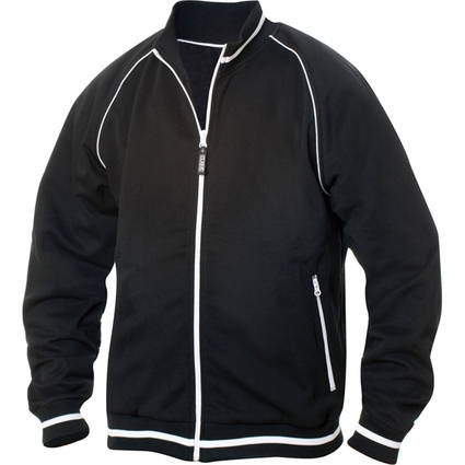Clique Men's Jacket: 80% Polyester, 20% Cotton Full Zip Long Sleeve (MQK00030)