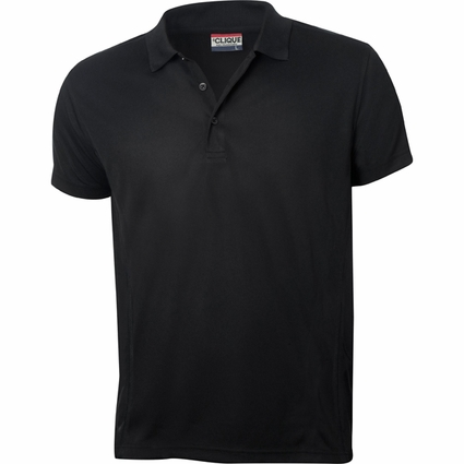 Clique Men's Polo Shirt: 100% Polyester  Short Sleeve (MQK00023)