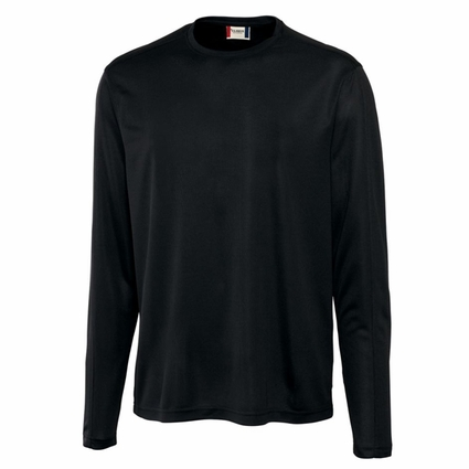 Clique Men's T-Shirt: 100% Polyester  Long Sleeve (MQK00024)