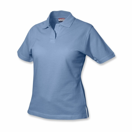 Clique Women's Polo Shirt: 100% Cotton  Short Sleeve (LQK00001)