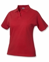 Clique Plus Size Women's Polo Shirt: 100% Cotton  Short Sleeve (WQK00001)
