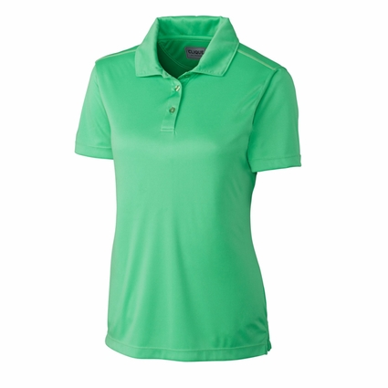 Clique Women's Polo Shirt: 100% Polyester Interlock  Short Sleeve (LQK00036)