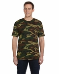 Code V Men's T-Shirt: 100% Cotton Camouflage (LS3906)