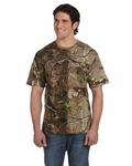 Code V Men's T-Shirt: 100% Cotton Officially Licensed Realtree Camouflage Short-Sleeve (3980)