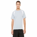 Men's Colorblocked Short-Sleeve T-Shirt: (M1004)