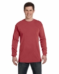 Ringspun Garment-Dyed Long-Sleeve T-Shirt: (C6014)