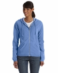 Ladies' 10 oz. Garment-Dyed Full-Zip Hood: (C1598)