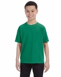 Youth 5.4 oz. Ringspun Garment-Dyed T-Shirt: (C9018)