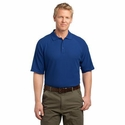 CornerStone Men's Polo Shirt: 100% Cotton Wrinkle Resistant Tactical(CS414)