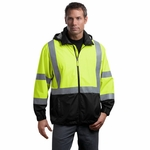 CornerStone Men's Safety Windbreaker: ANSI Class 3 (CSJ25)
