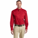 CornerStone Men's Twill Shirt: Long Sleeve Superpro (SP17)