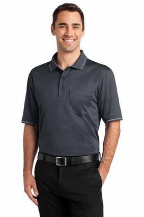 CornerStone Select Snag-Proof Tipped Pocket Polo