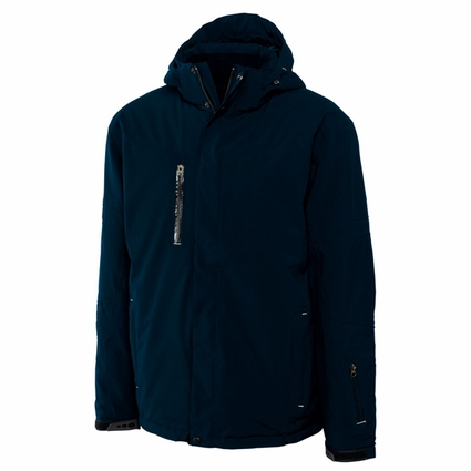 Cutter & Buck Big & Tall Men's Jacket: Insulated Sanders Full-Zip (BCO00874)