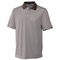 Cutter & Buck Big & Tall Men's Polo Shirt: 100% Polyester DryTec Trevor Stripe (BCK00332)