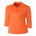 Cutter & Buck Ladies CB DryTec 3/4 Sleeve Chelan Polo LCK02593