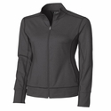 Cutter & Buck Ladies CB DryTec Ladies Topspin Full Zip LCK02560