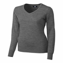 Cutter & Buck Ladies L/S Douglas V-neck LCS04774