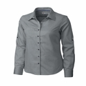 Cutter & Buck Ladies L/S Epic Easy Care Mini Herringbone LCW04149