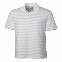 Cutter & Buck Men's CB DryTec Franklin Stripe Polo MCK00969
