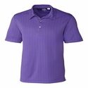 Cutter & Buck Men's Hamden Jacquard Polo MCK09255