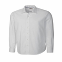 Cutter & Buck Men's Herringbone Shirt: Epic Easy Care Long Sleeve (MCW01879)