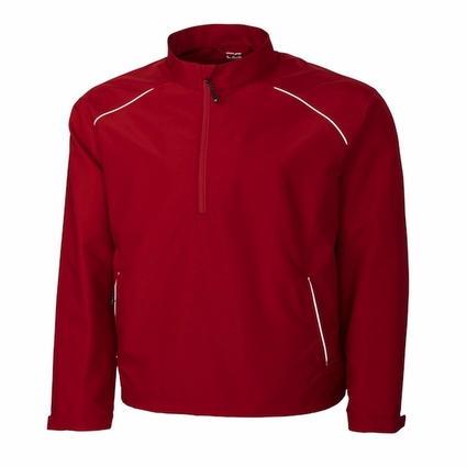 Cutter & Buck Men's Jacket: Beacon Half-Zip Reflective (MCO00922)