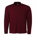 Cutter & Buck Men's L/S Belfair Pima Mock MCK00971