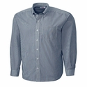 Cutter & Buck Men's L/S Epic Easy Care Mini Bengal MCW00115