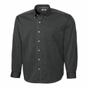 Cutter & Buck Men's L/S New Epic Easy Care Pin Stripe MCW02056