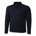 Cutter & Buck Men's L/S Pima Belfair Zip Mock MCK00973