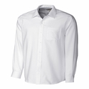 Cutter & Buck Men's L/S Tailored Fit Spread Nailshead MCW09474