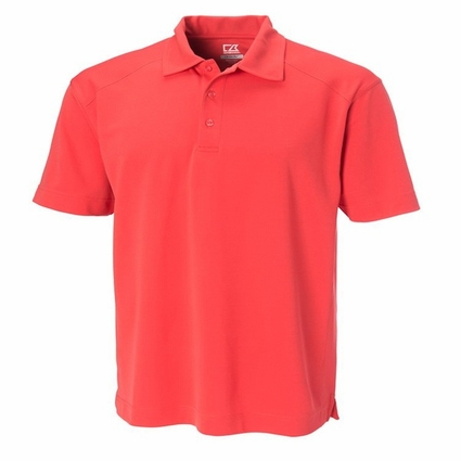 Cutter & Buck Men's Polo Shirt: 100% Polyester DryTec Genre (MCK00291)