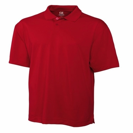 Cutter & Buck Men's Polo Shirt: 100% Polyester Pique DryTec Kingston (MCK00415)
