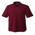 Cutter & Buck Men's Polo Shirt: Cotton Blend Medina Tonal Stripe (MCK00427)
