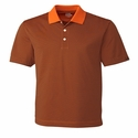 Cutter & Buck Men's Polo Shirt: 100% Polyester DryTec Trevor Stripe (MCK00332)