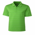 Cutter & Buck Men's Tilton Melange Stripe Polo MCK09164