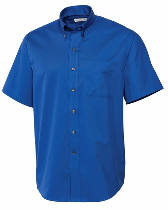 Cutter & Buck Men's Twill Shirt: Epic Easy Care Short Sleeve (MCW01621)