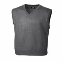 Cutter & Buck Mens Big & Tall Douglas V-neck Vest BCS01432